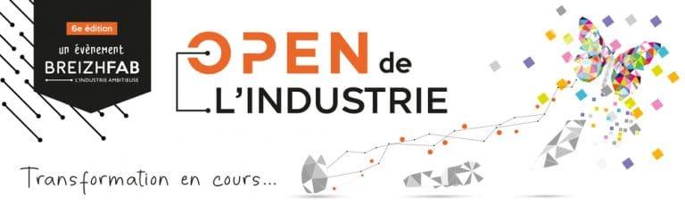 Rendez-vous le mardi 19 octobre au salon Open Industrie à Rennes