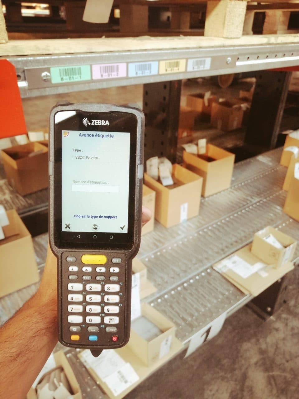 Scanne suivi production et commande oxymax